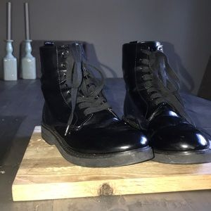 Urban Outfitters | Patent Combat Boot